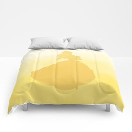 Beauty Silhouette - Beauty and the Beast Comforters