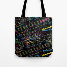 ness control pattern Tote Bag