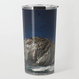 Face Rock Travel Mug