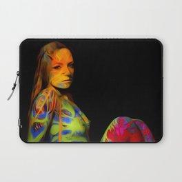 Paint Me Nude Laptop Sleeve