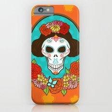 Day of the Dead Beauty iPhone 6s Slim Case