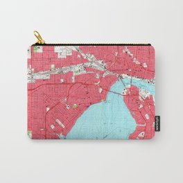 Vintage Map of Jacksonville Florida (1964) 2 Carry-All Pouch
