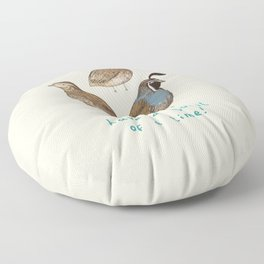 Quail of a Time Floor Pillow