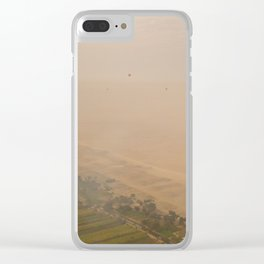 Ballons on a Sea of Sand Clear iPhone Case