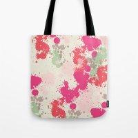 splatter Tote Bags featuring Splatter by C Designz