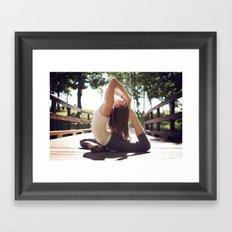 Yoga Framed Art Print