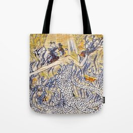 Coral Queen Tote Bag