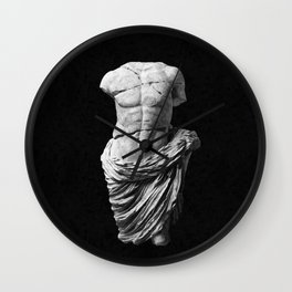 Greek God  Wall Clock