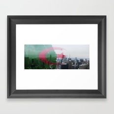 NYC Algeria Panorama Framed Art Print
