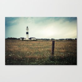 Lighthouse of Kampen II Canvas Print