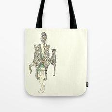 animalia cat Tote Bag