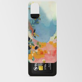 garden with sea view and olive tree Android Card Case