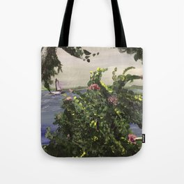 Southport Waterfront Tote Bag