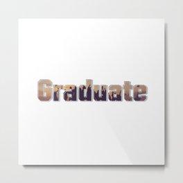 Graduate Metal Print