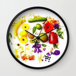 explosion of colour #society6 #decor #buyart Wall Clock
