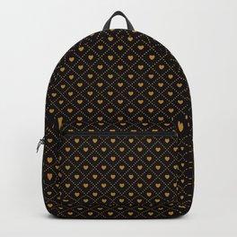 Golden Hearts Backpack