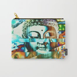 Glitch Buddha #3 Carry-All Pouch