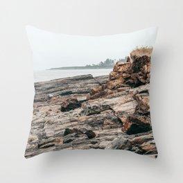 Summer Stillness Throw Pillow