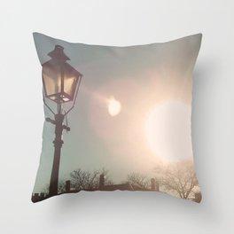 The Sun Stays the Same Throw Pillow