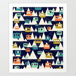 Alpine Wonderland Art Print