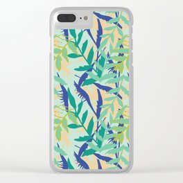 Rotorua Foliage Clear iPhone Case
