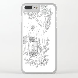 beegarden.works 004 Clear iPhone Case