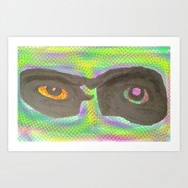 those eyes Art Print