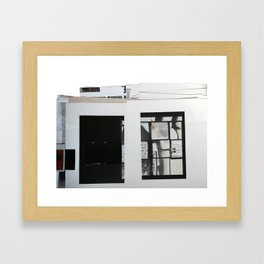 layout  Framed Art Print
