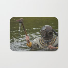 Greek Sponge Diver Bath Mat