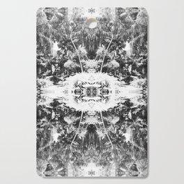 Black n White Boho Pattern Cutting Board