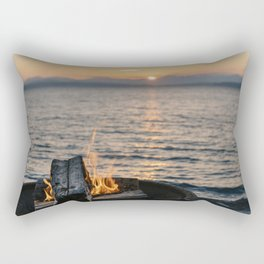 Seaside Serenity Rectangular Pillow