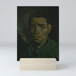Head of a Man Mini Art Print