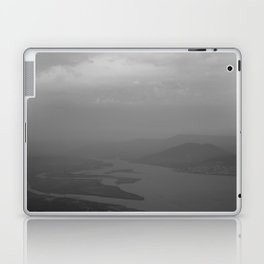 Black and white light and shadow VlI Laptop & iPad Skin
