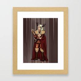 November Fairy Framed Art Print