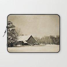 Winter Barn Laptop Sleeve