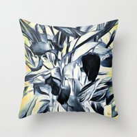 serenity Throw Pillows featuring Serenity by Geni
