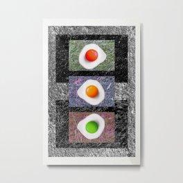 Hedge 'n' eggs 01 Metal Print