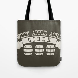 Sweet Apple Acres Cider Tote Bag