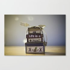 Life is a blessing Canvas Print