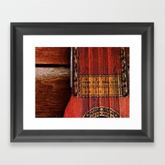 The Good Old Ukelin Framed Art Print