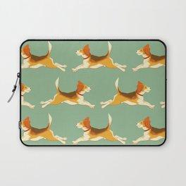 Beagle Pattern Laptop Sleeve