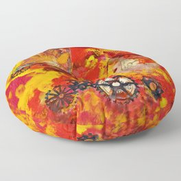 There is Nothing Left For You Back There Floor Pillow