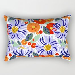 Alia #floral #illustration #botanical Rectangular Pillow