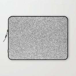 grayscale treemap mosaic Laptop Sleeve