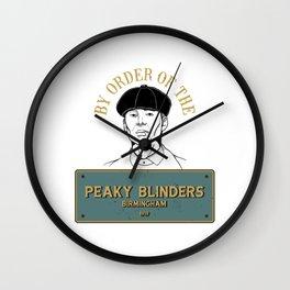 peaky fan art Wall Clock