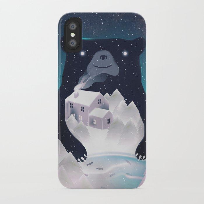 I Love Winter iPhone Case
