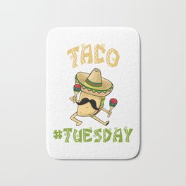 Taco Tuesday - Cinco De Mayo Bath Mat