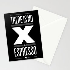 No X in Espresso – Dark Grey Stationery Cards