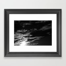sunset . iii Framed Art Print