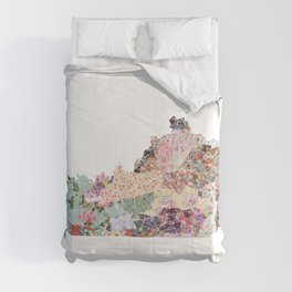 Kentucky map Comforters